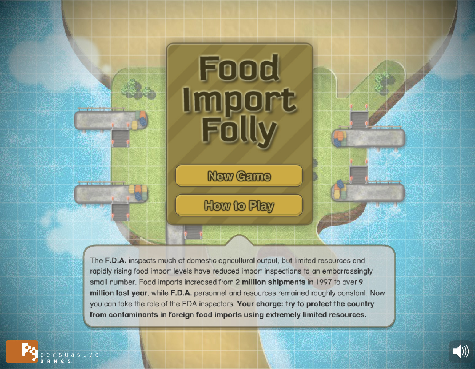 Try to protect the country from foreign contaminants in food imports using limited resources